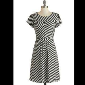 ModCloth Downeast XXL Striped Dress